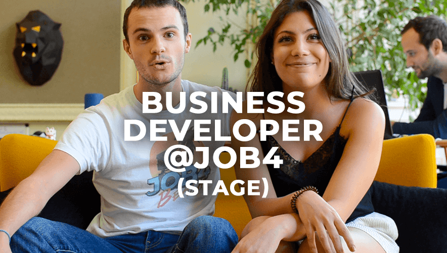 JOB4 Business Developer Stage