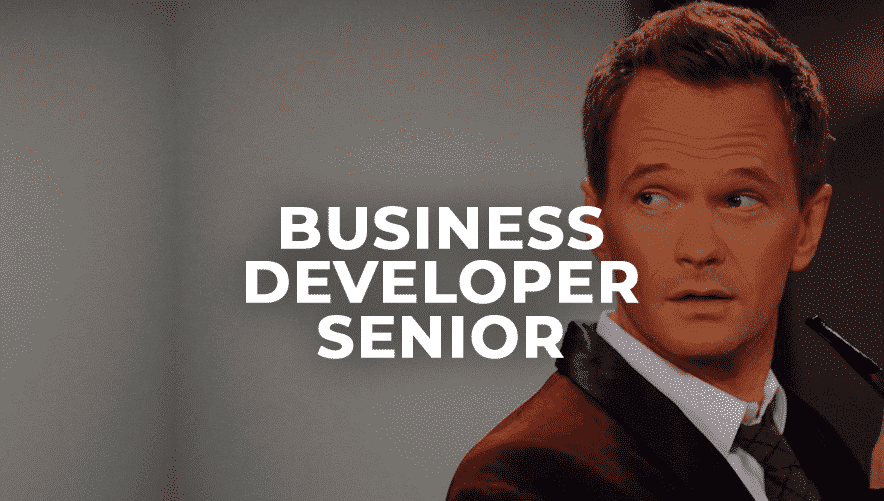 Business Developer Senior