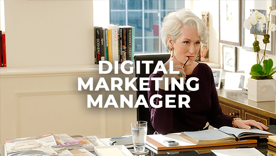 Digital Marketing Manager (3/5 ans d'exp.)