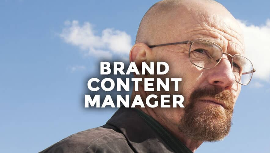 Brand Content Manager