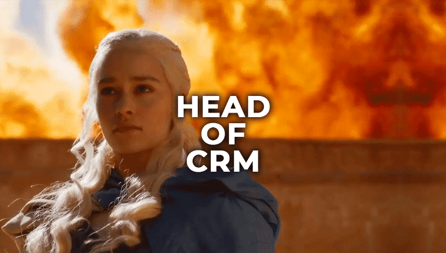 Head Of CRM