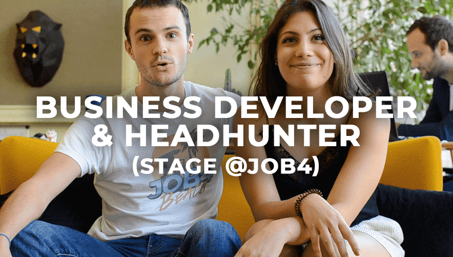 Business Developer & Headhunter (stage)